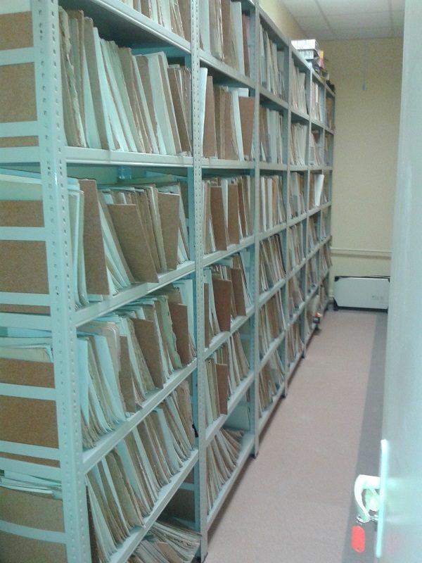Regały do archiwum