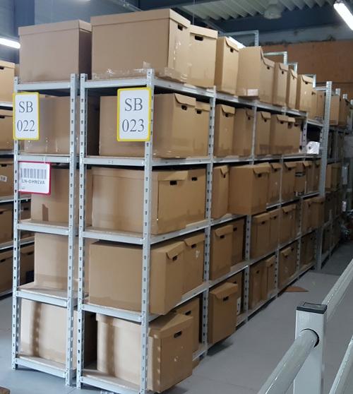 Regały magazynowe z udźwigiem do 200 kg